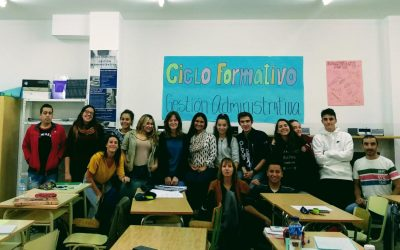 FORMACIÓN EN CENTROS DE TRABAJO DE LOS ALUMNOS DE CICLO FORMATIVO