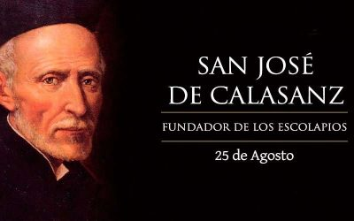 DÍA DE SAN JOSÉ DE CALASANZ