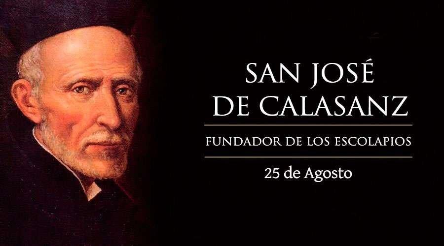 Resultado de imagen de San José de Calasanz
