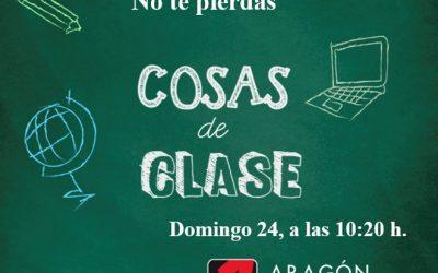 DOMINGO 24 A LAS 10.20H EL COLE EN ARAGÓN TELEVISIÓN
