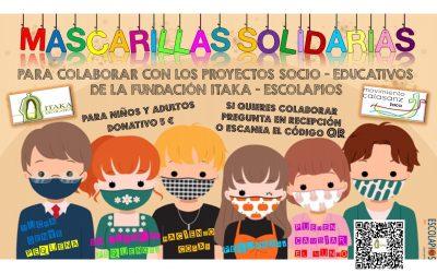CAMPAÑA MASCARILLAS SOLIDARIAS POR ITAKA-ESCOLAPIOS