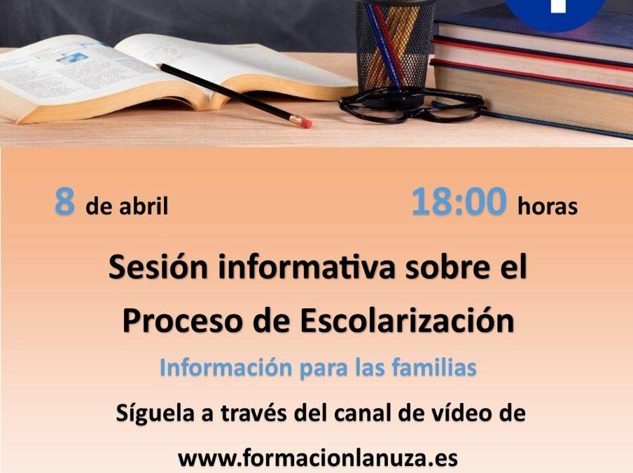 Sesión informativa sobre el Proceso de Escolarización
